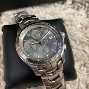 Tag Heuer Link Chronograph Steel Automatic Watch